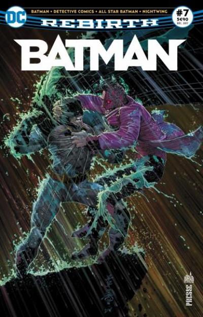 Couverture Batman rebirth tome 7