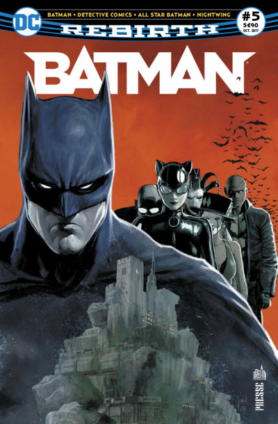 Couverture Batman rebirth tome 5