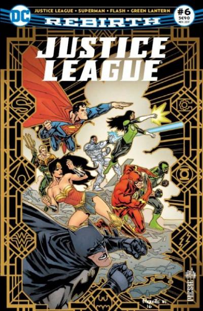 Couverture Justice league rebirth tome 6