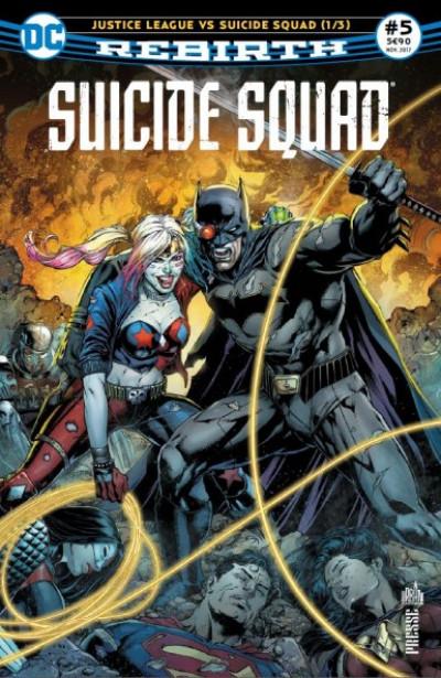 Couverture Suicide squad rebirth tome 5