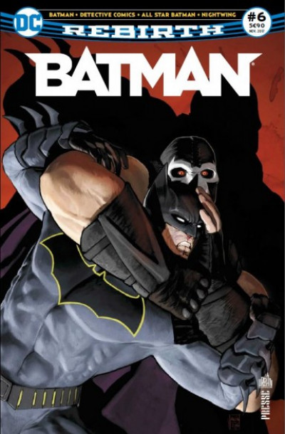 Couverture Batman rebirth tome 6