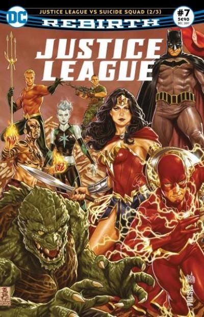 Couverture Justice League rebirth tome 7
