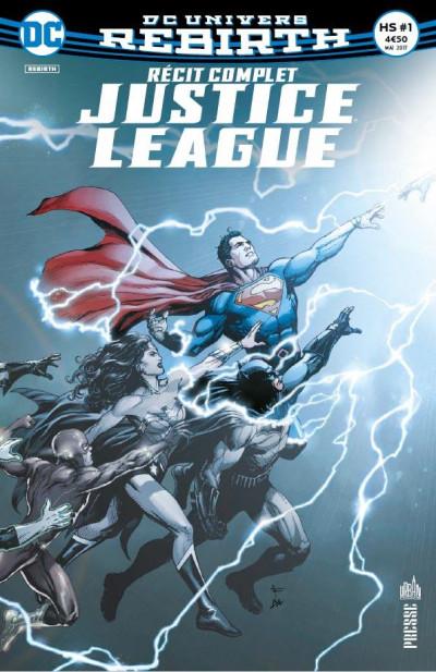 Couverture Justice league HS tome 1