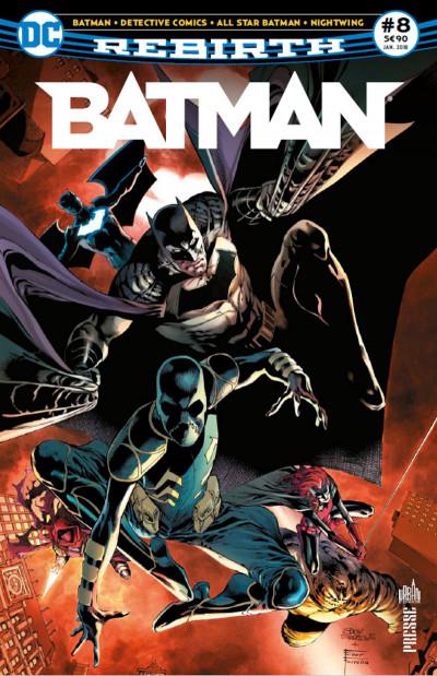 Couverture Batman rebirth tome 8