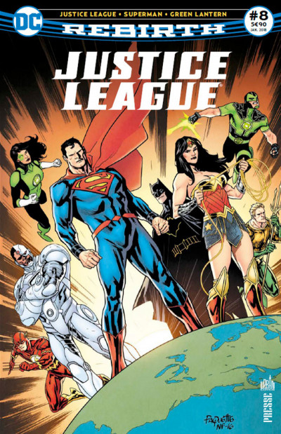 Couverture Justice league rebirth tome 8