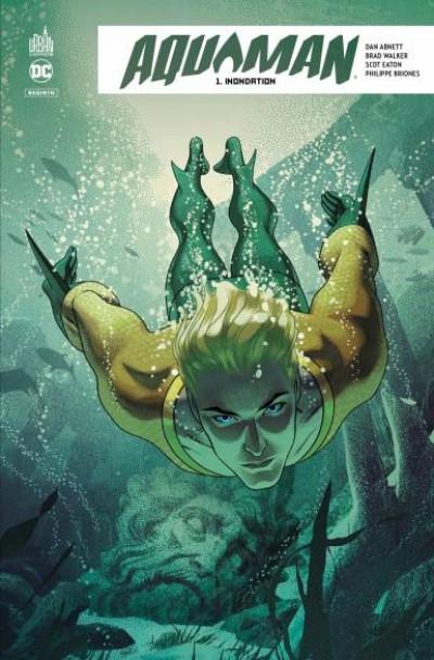 Couverture Aquaman rebirth tome 1