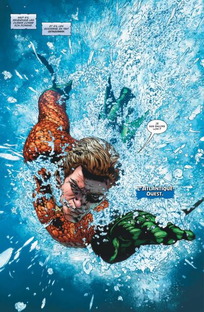 Page 2 Aquaman rebirth tome 1