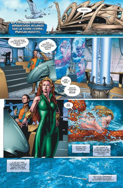 Page 3 Aquaman rebirth tome 1