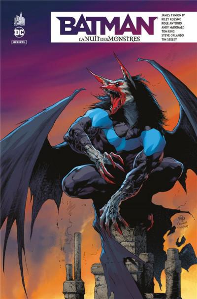 Couverture Batman - la nuit des monstres