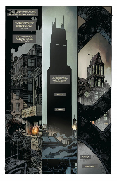 Page 0 Batman - la cour des hiboux - édition anniversaire 5 ans