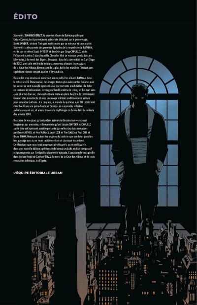 Page 5 Batman - la cour des hiboux - édition anniversaire 5 ans