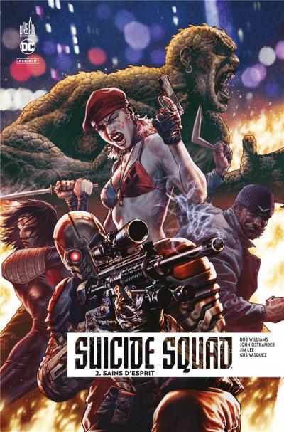 Couverture Suicide squad rebirth tome 2