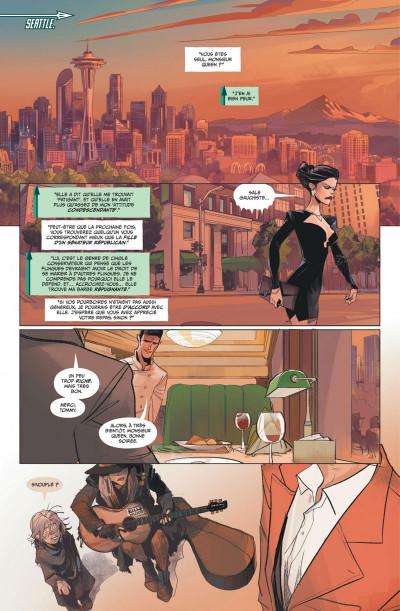 Page 1 Green Arrow rebirth tome 1