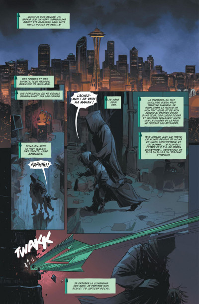 Page 3 Green Arrow rebirth tome 1