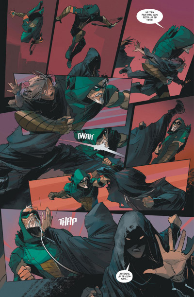 Page 5 Green Arrow rebirth tome 1