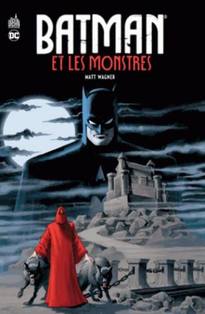 Couverture Batman & les monstres