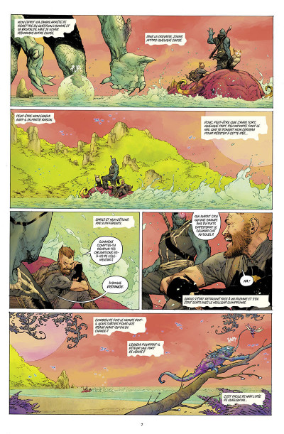 Page 3 Seven to eternity tome 3