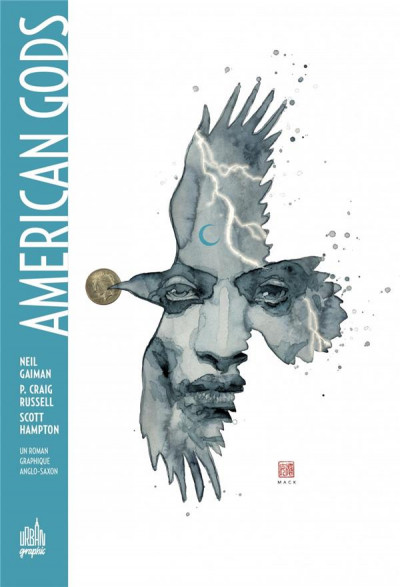 Couverture American gods tome 1