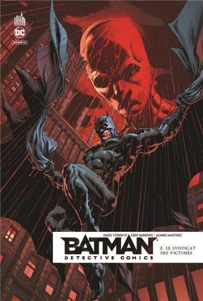 Couverture Batman detective comics tome 2