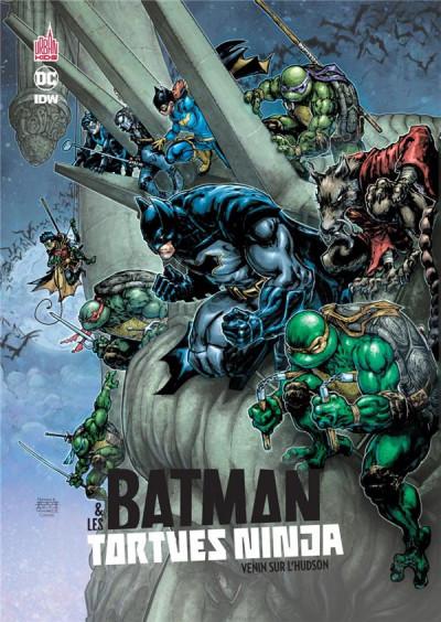 Couverture Batman et les Tortues Ninja tome 2
