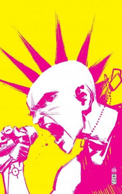 Couverture Punk rock Jesus - édition anniversaire 5 ans