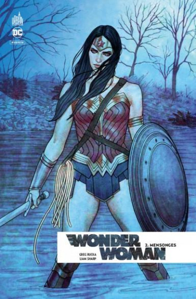 Couverture Wonder woman rebirth tome 2
