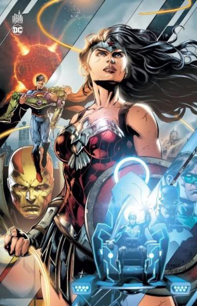 Couverture Justice league : la guerre Darkseid - édition anniversaire 5 ans