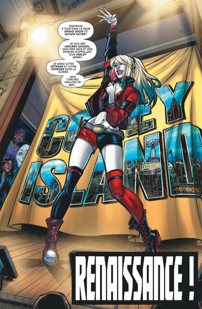 Page 9 Harley Quinn rebirth tome 1