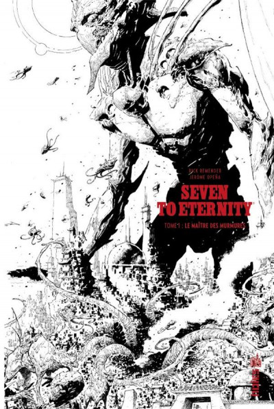 Couverture Seven to eternity tome1 (n&b)