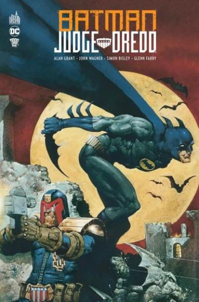 Couverture Batman Judge Dredd