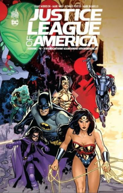 Couverture Justice league of america tome 4