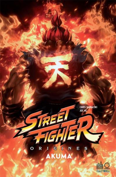 Couverture Street fighter origines - Akuma