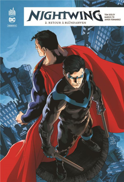 Couverture Nightwing rebirth tome 2