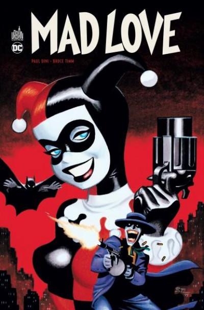 Couverture Batman mad love + DVD