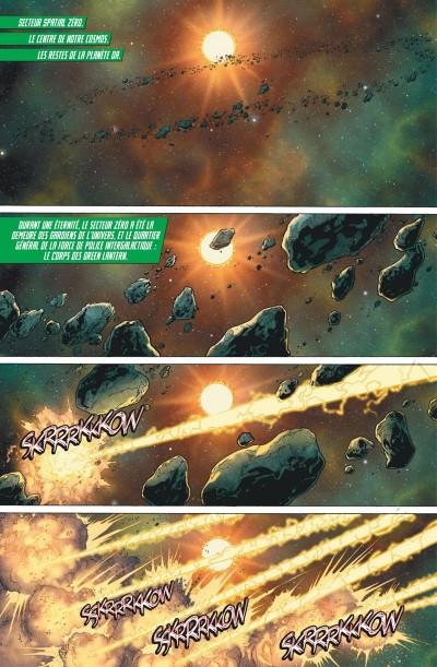Page 1 Green lantern rebirth tome 1