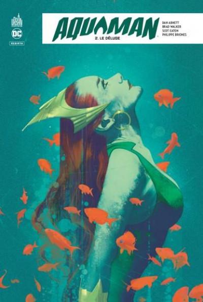 Couverture Aquaman rebirth tome 2