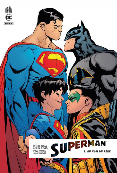 Couverture Superman rebirth tome 2