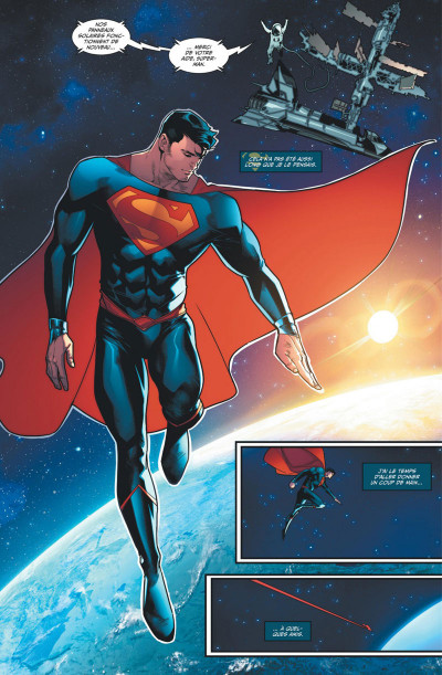 Page 1 Superman rebirth tome 2