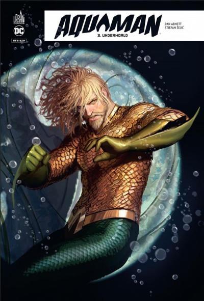 Couverture Aquaman rebirth tome 3