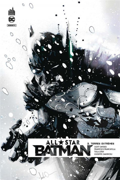 Couverture All star Batman tome 2