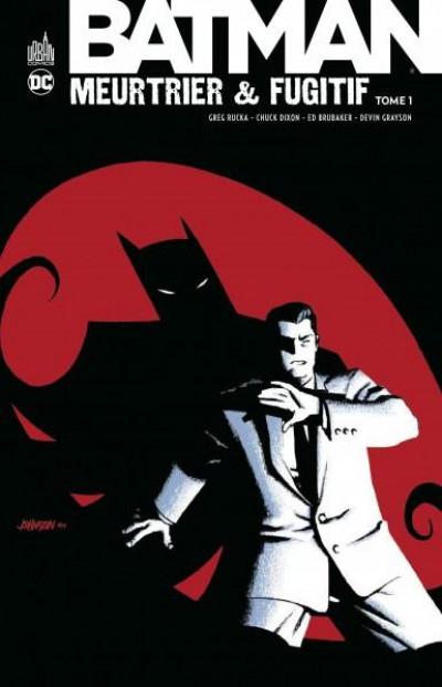 Couverture Batman meurtrier & fugitif tome 1