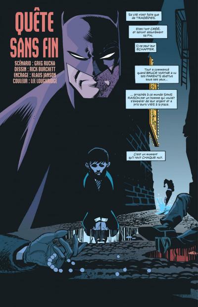 Page 1 Batman meurtrier & fugitif tome 1