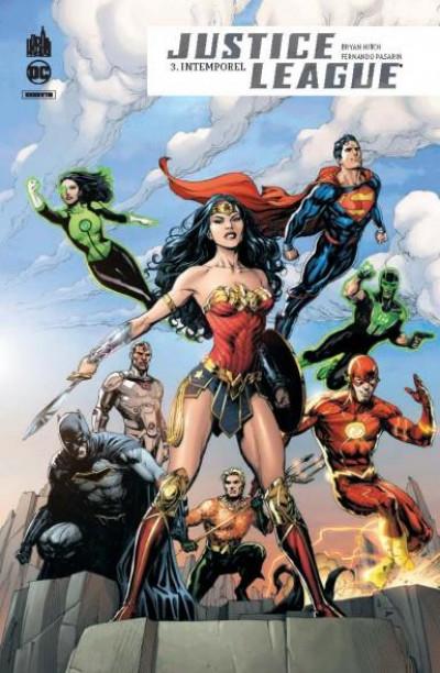 Couverture Justice league rebirth tome 3