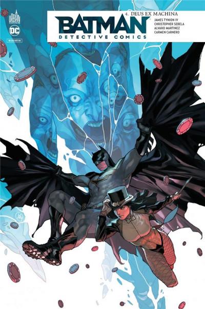 Couverture Batman detective comics tome 4