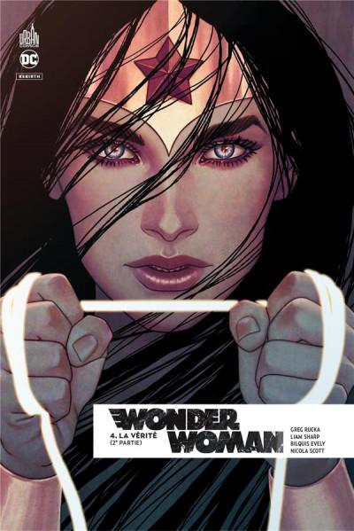 Couverture Wonder Woman rebirth tome 4