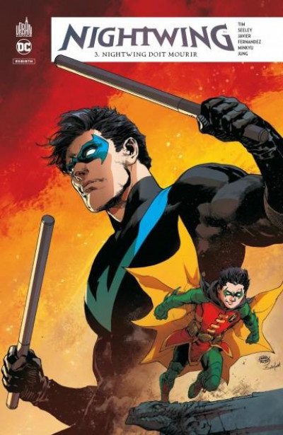 Couverture Nightwing rebirth tome 3