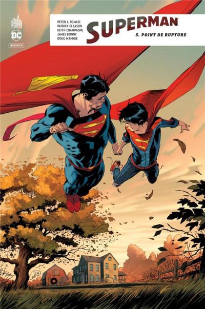 Couverture Superman rebirth tome 5