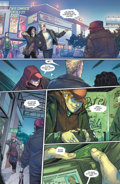 Page 1 Green Arrow rebirth tome 4