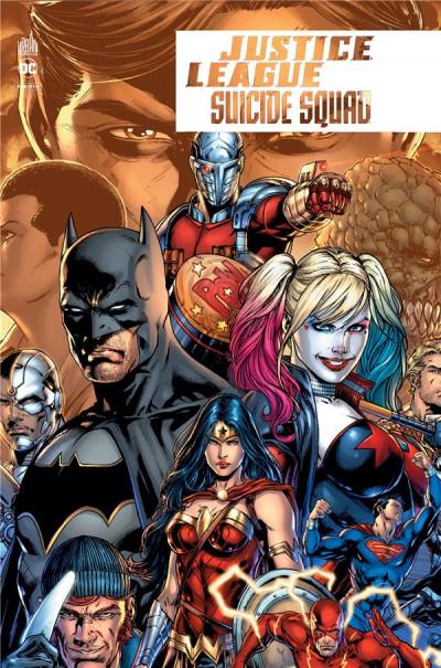 Couverture Justice league VS Suicide squad