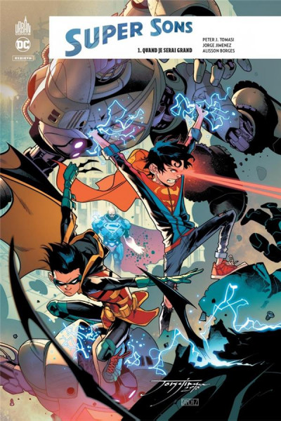 Couverture Super sons tome 1